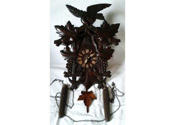 Relógio Antigo de Parede Cuco H (Década de 30 - 88 Anos)