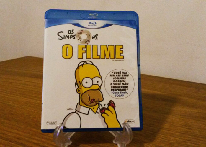 Blu-ray Os Simpsons: O Filme (1995)