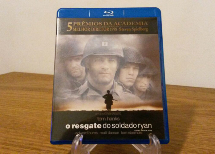 Blu-ray O Resgate do Soldado Ryan (1998)