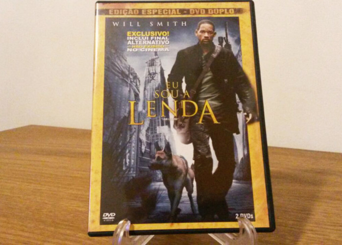 Dvd Duplo – Eu Sou A Lenda (I Am Legend - 2007)