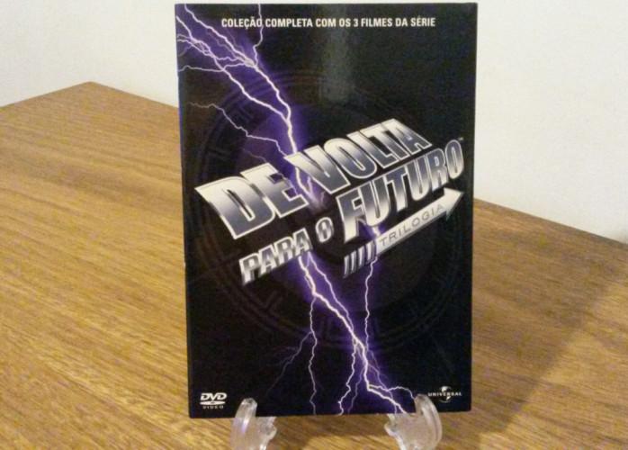Dvd Trilogia De Volta para o Futuro (1985-1989-1990)