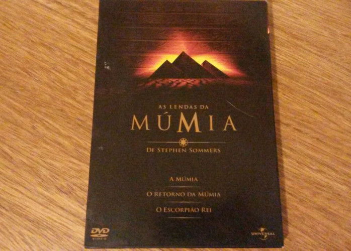 Dvd Trilogia – As Lendas da Múmia (1999-01-2002)