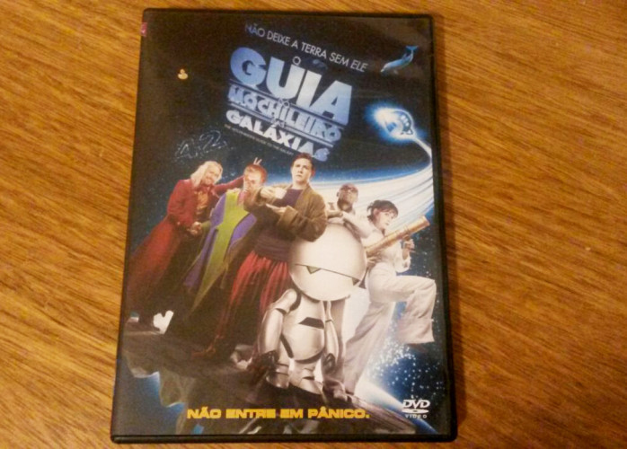 Dvd O Guia do Mochileiro das Galáxias (2005)