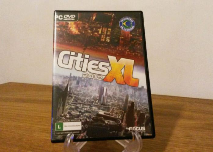 Jogo PC - Cities XL2012 (Simulador de Cidades - Original)