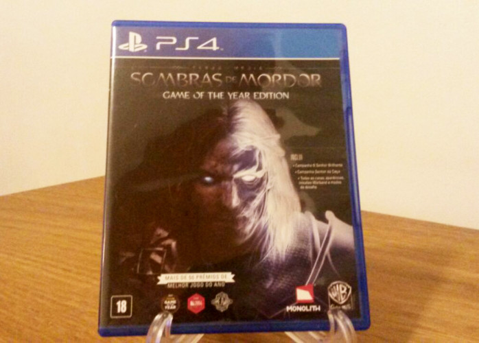 Jogo PS4 – Terra-Média Sombras de Mordor (Game of the Year Edition)