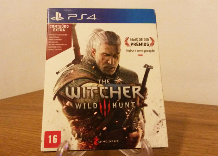 Jogo PS4 – The Witcher 3: Wild Hunt (CD Projekt Red)