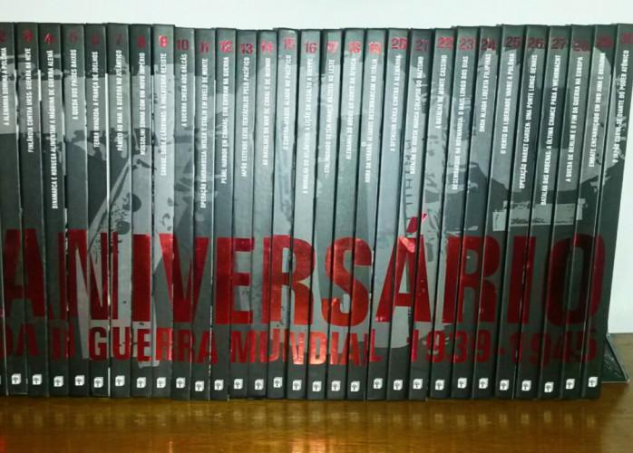 Livro - 70 Anos Segunda Guerra Mundial 1939-1945 (30 Livros)