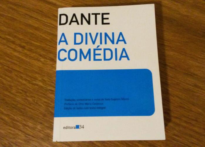 Livro - A Divina Comédia - Dante Alighieri (Editora 34)