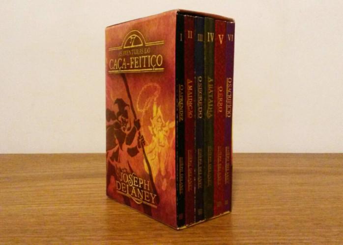 Livro – Box As Aventuras do Caça-Feitiço Ed. Bertrand