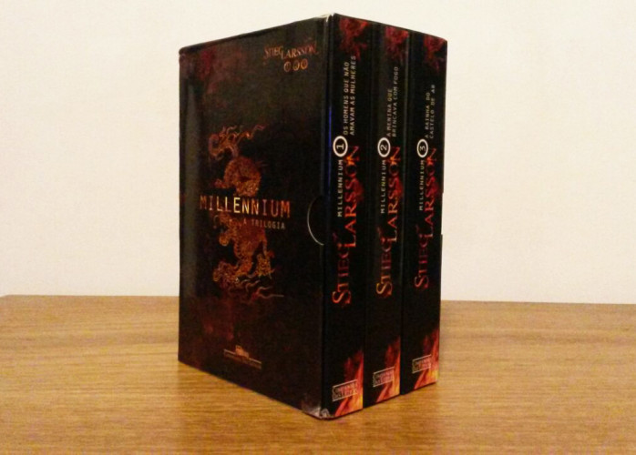Livro – Trilogia Millennium - Stieg Larsson Cia. das Letras