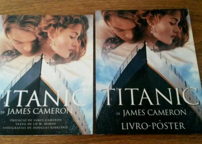 Livro – Titanic de James Cameron (+ Livro-Pôster) Editora Manole