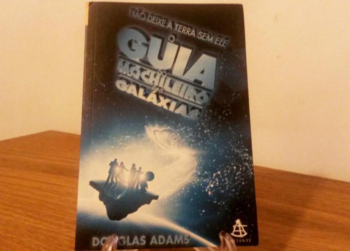 Livro – O Guia do Mochileiro das Galáxias Ed. Sextante