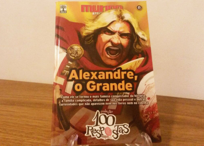 Revista – Coleção 100 Respostas 08 – Alexandre Ed. Abril