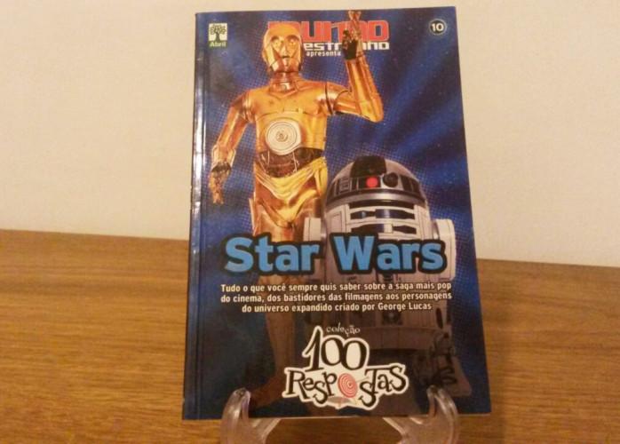 Revista – Coleção 100 Respostas 10 – Star Wars Ed. Abril