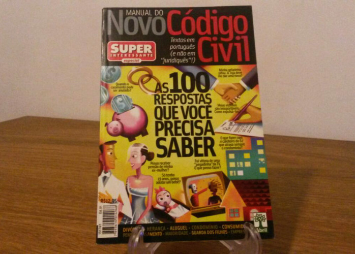 Revista – Manual do Novo Código Civil Ed. Abril