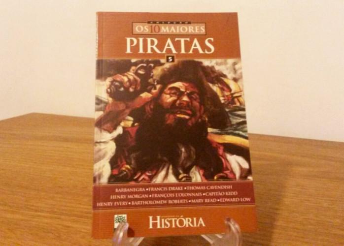 Revista – Os 10 Maiores Nº 05 - Piratas Ed. Abril