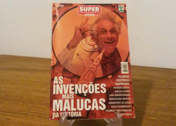 Revista – As Invenções mais Malucas da História Ed. Abril