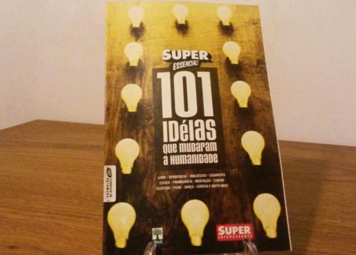 Revista – 101 Idéias Que Mudaram a Humanidade Ed. Abril