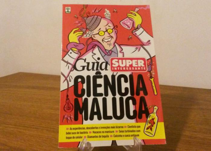 Revista – Guia Ciência Maluca Ed. Abril