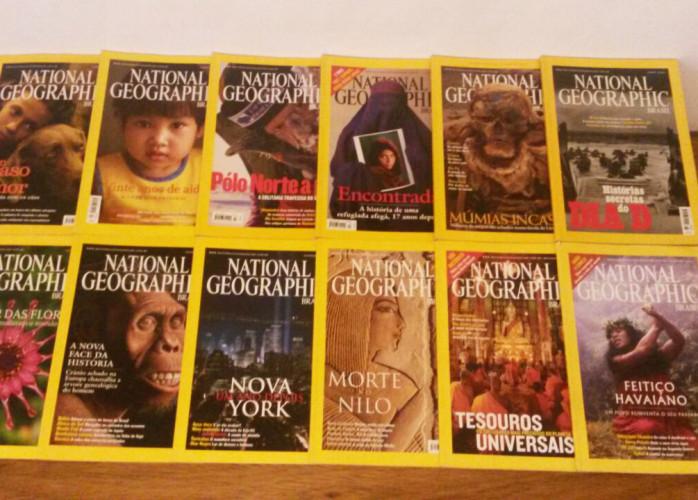 Revistas – National Geographic (2002) Nº 21 ao 32 – Ed.Abril