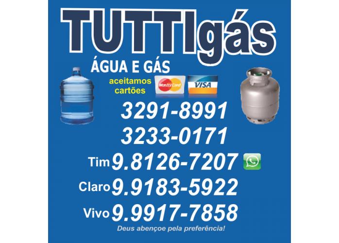 GAS E AGUA