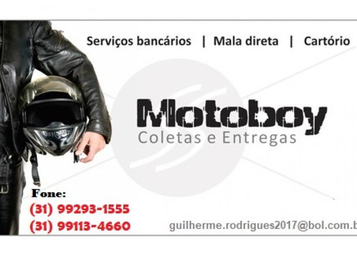 Moto boy Região Barreiro BH