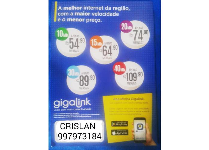 Internet a partir de R$39,90 Giga Link