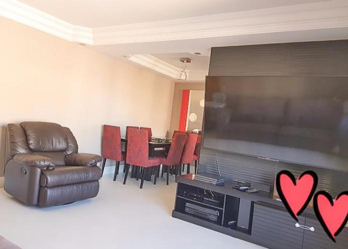 Lindo Apartamento 3 Dormitórios 103 m² em Santo André - Vila Gilda.