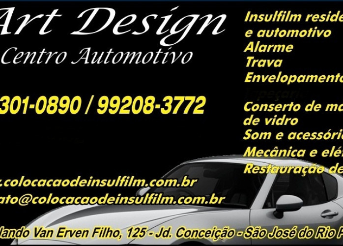 Centro Automotivo Art Design