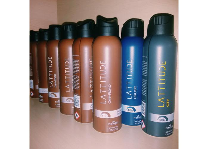Desodorante Lattitude Hinode