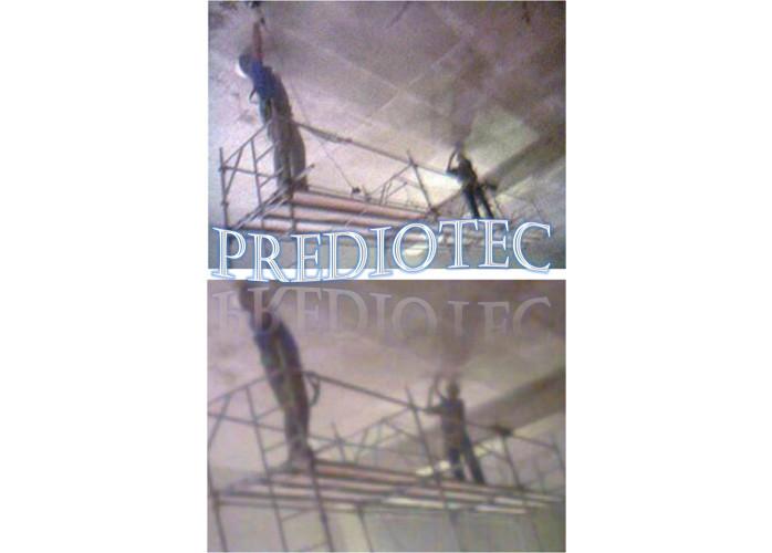 Tratamento de concreto aparente com tratamento estrutural, tratamento de ferragens, colmatação, impermeabilização