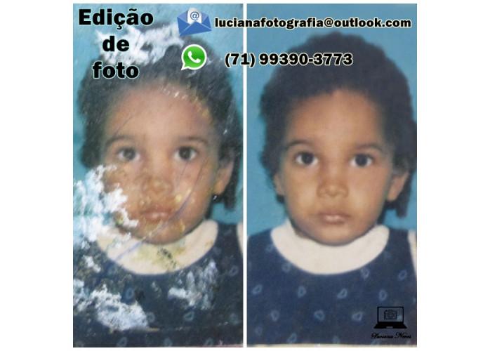 Restauração de fotos a todo o Brasil - Serviço home office