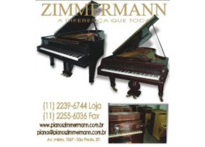 PIANOS  ZIMMERMANN  MODELO ARMÁRIO NOVO E SEMI-NOVOS DE DIVERSAS MARCAS