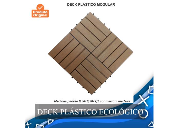 Deck Wpc Plástico Ecológico descontos especiais, entrega para todo brasil