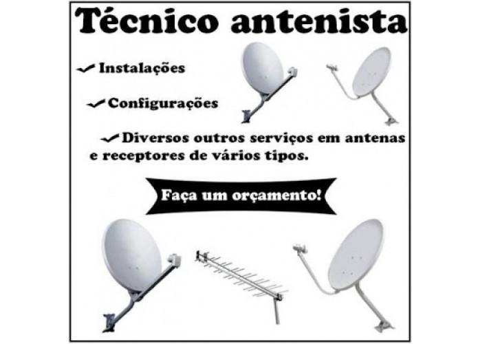 intalador  de tv via satélite