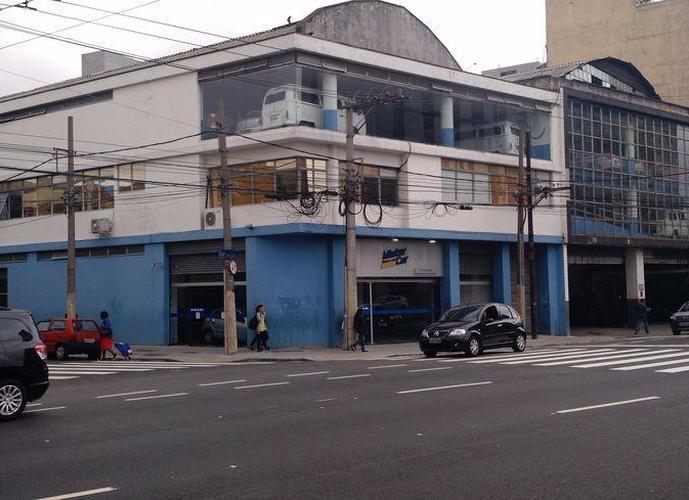 Galpão comercial para locação, Brás, São Paulo - GA0012.