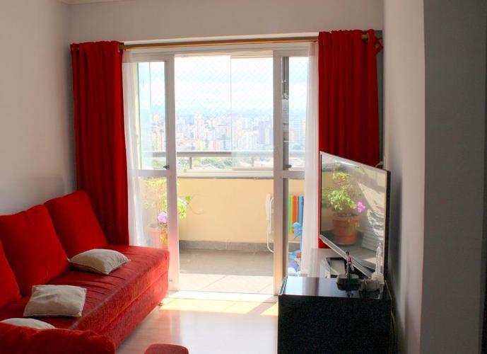 Apartamento 67 m², Edifício Cíntia, 2 dormitórios, 1 vaga, Vila Yara, Osasco.