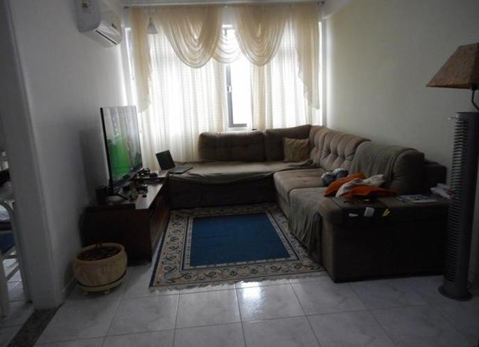 Apartamento 2 dormitórios à venda, Boqueirão, Santos.