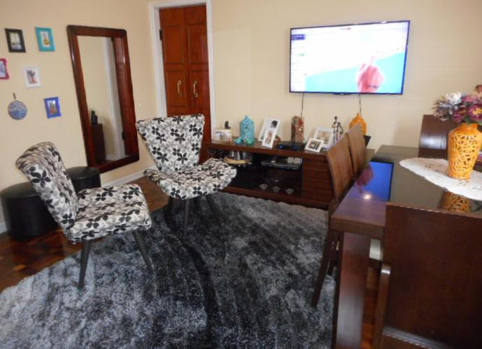 Apartamento 3 dormitórios à venda, Embaré, Santos.