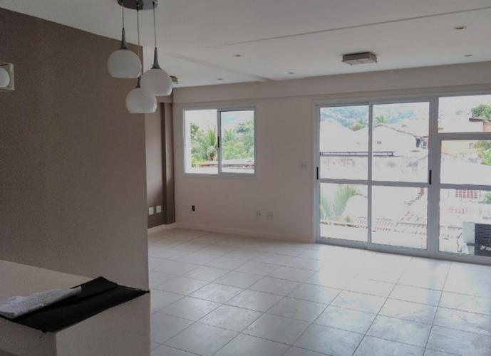 Flat em Freguesia (Jacarepaguá)/RJ de 67m² 1 quartos a venda por R$ 420.000,00