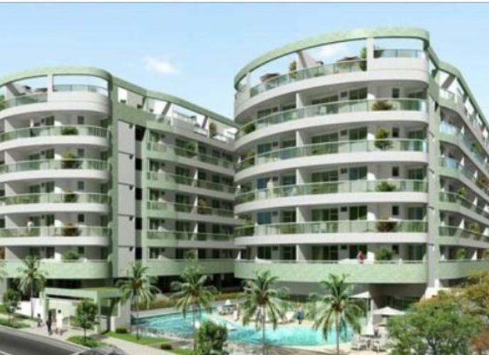 Flat em Freguesia (Jacarepaguá)/RJ de 67m² 1 quartos para locação R$ 1.400,00/mes