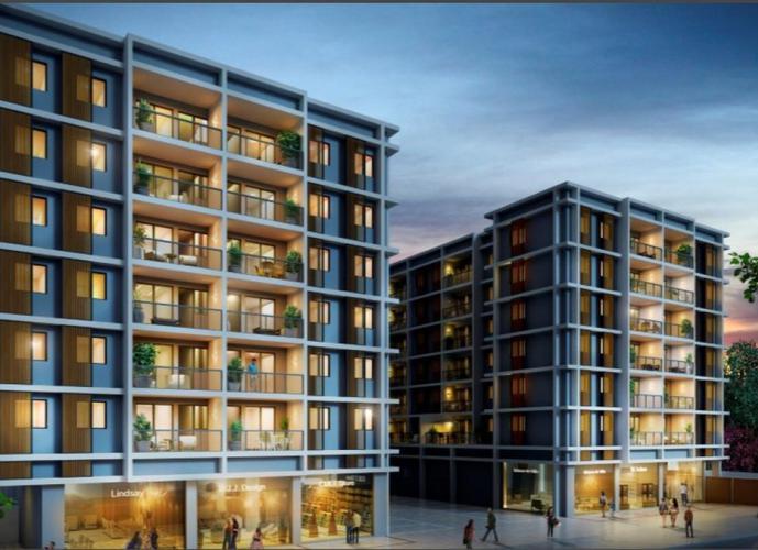 Apartamento Tanque Sala 02 quartos c/ Suite 62m2 - Infra Total - 1ª Locação