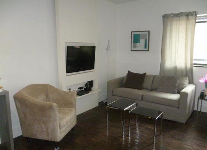 Flat residencial para locação, Jardim Paulista, São Paulo - FL0744.