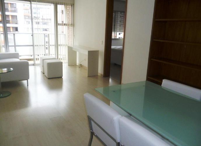 Flat em Jardins/SP de 56m² 1 quartos para locação R$ 3.030,00/mes