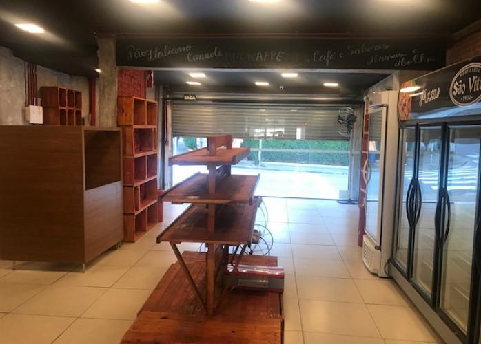 Excelente Ponto Comercial 150 m² na Rua das Figueiras - Santo André.
