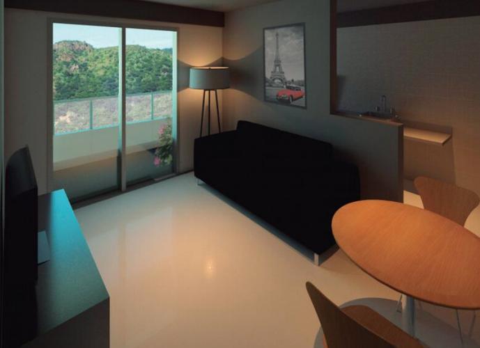 Apartamento em Anil/RJ de 40m² 1 quartos a venda por R$ 65.990,00