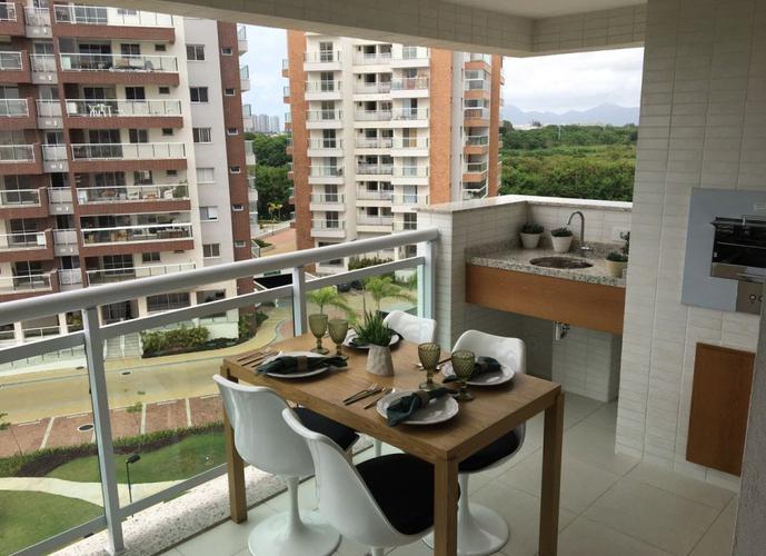 apartamento de frente pra Lagoa de Jacarepaguá