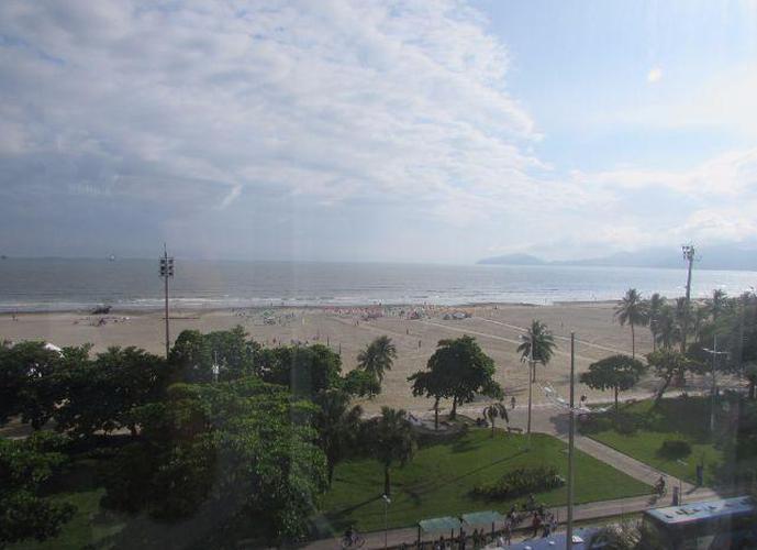Apartamento residencial para venda e locação, Gonzaga, Santos - AP0303.
