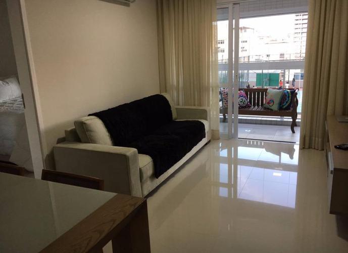 Apartamento em Gonzaga/SP de 57m² 1 quartos para locação R$ 3.450,00/mes