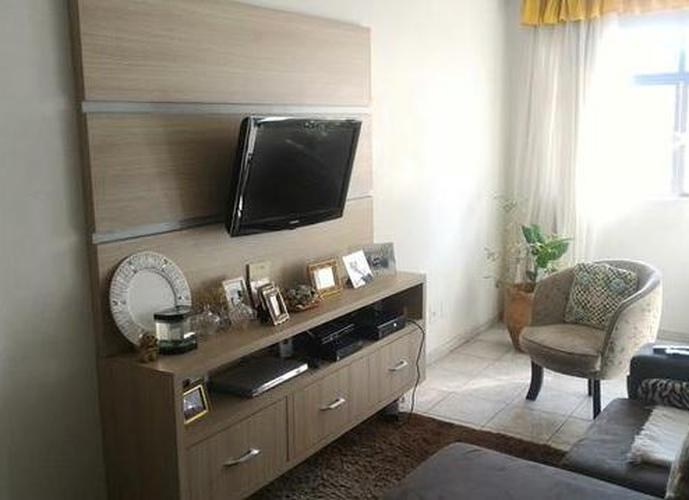 Apartamento lindo e amplo na Vila Matias, Santos
